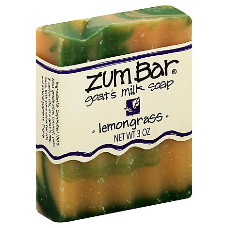 Zum Bar Lemongrass Scented Bar Soap - 3 Oz