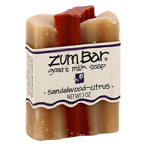 Zum Bar Sandlewood Citrus Scented Bar Soap - 3 Oz