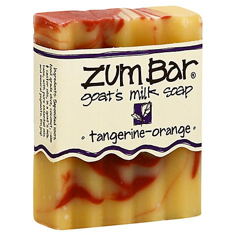 Zum Bar Tangerine Orange Scented Bar Soap - 3 Oz