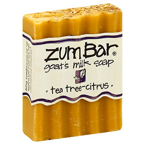 Zum Bar Tea Tree Citrus Scented Bar Soap - 3 Oz