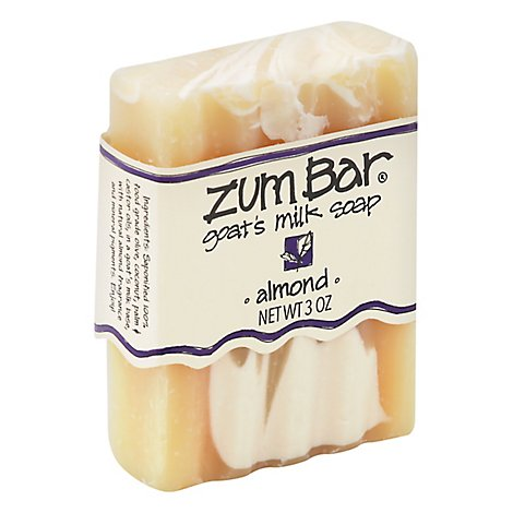 Zum Bar Soap Goats Milk Almond - 3 Oz
