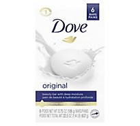 Dove Beauty Bar with Deep Moisture White - 6-4 Oz