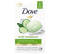 Dove Go Fresh Bath Bars Cool Moisture - 6-4 Oz