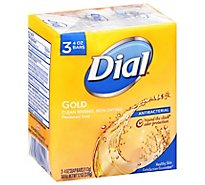 Dial Bath Bar Soap Gold - 3-4.5 Oz