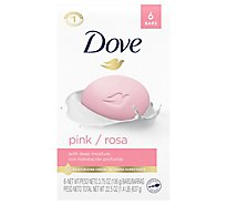 Dove Beauty Bar Pink - 6-4 Oz