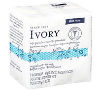 Ivory Bar Soap Original Scent 3 Count - 3.17 Oz.