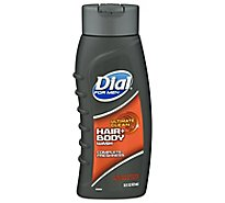 Dial For Men Hair + Body Wash Ultimate Clean Complete Freshness - 16 Fl. Oz.