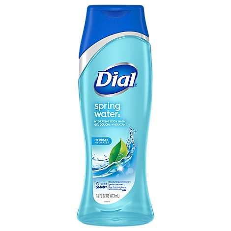 Dial Body Wash Spring Water With Moisturizer - 18 Fl. Oz.