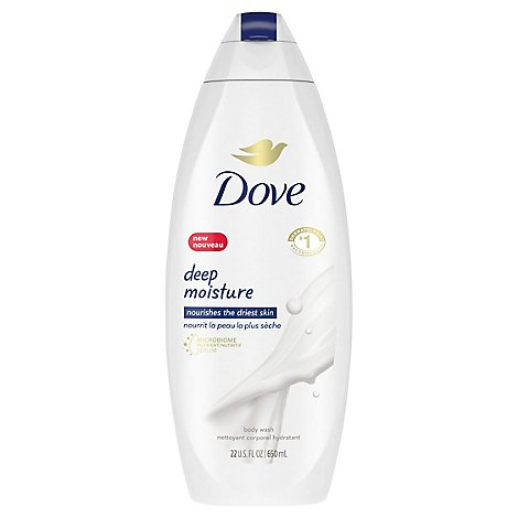 Dove Body Wash Nourishing Deep Moisture - 22 Fl. Oz.