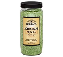 Village Naturals Therapy Mineral Bath Soak Concentrated Aches + Pains Muscle Relief - 20 Oz