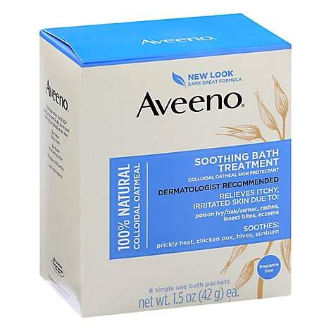 Aveeno Active Naturals Soothing Bath Treatment - 8-1.5 Oz