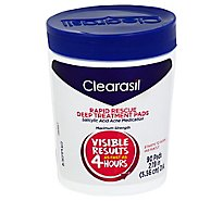 Clearasil Ultra Rapid Action Pads - 90 Count