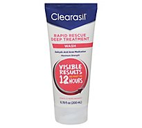 Clearasil Ultra Face Wash Daily Rapid Action Maximum Strength - 6.78 Fl. Oz.