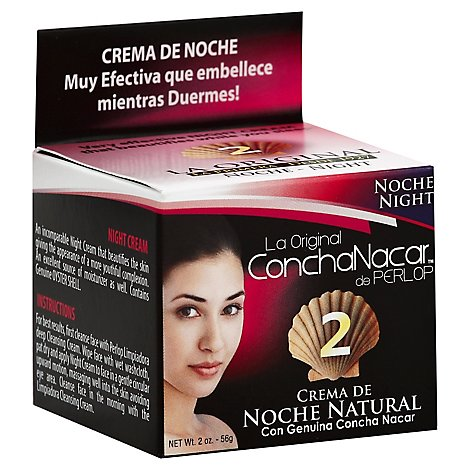 Perlop Cosmetics Concha Nacre Day Cream No 2 - 2 Oz