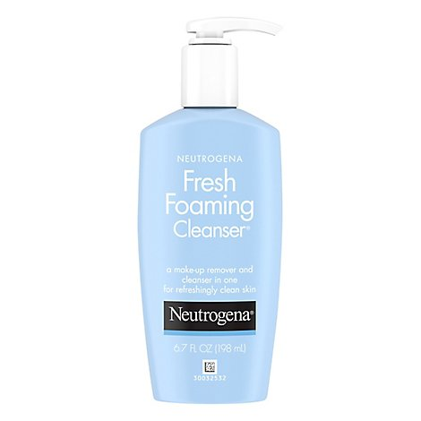 Neutrogena Cleanser Fresh Foaming - 6.7 Fl. Oz.