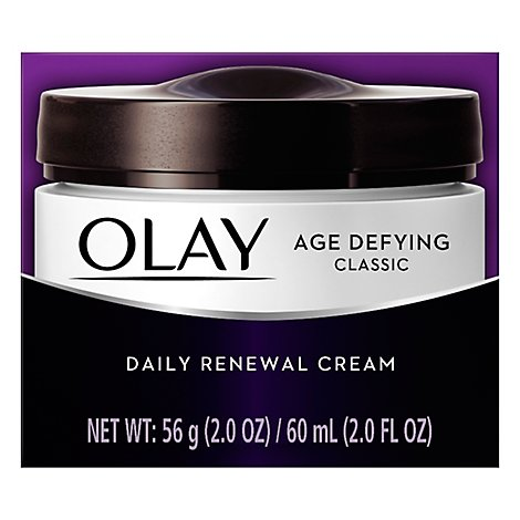 Olay Age Defying Renewal Cream Daily Classic - 2 Oz
