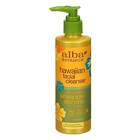 Alba Pineapple Enzyme Facial Cleanse - 8 Oz