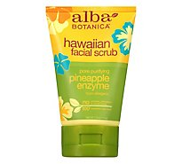 Alba Pineapple Enzyme Facial Scrub - 4 Oz