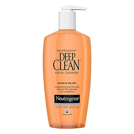 Neutrogena Deep Clean Face Wash - 6.7 Fl. Oz.