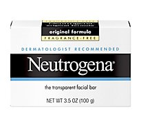 Neutrogena Facial Bar Original Formula Fragrance-Free - 3.5 Oz