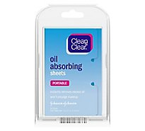 Clean & Clear Oil Absorbing Sheets - 50 Count