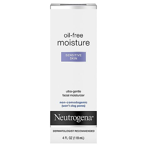 Neutrogena Sensitive Skin Moisturizer - 4 Fl. Oz.