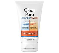 Neutrogena Clean Pore Clear Mask - 4.2 Fl. Oz.