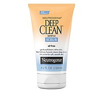 Neutrogena Deep Clean Gentle Scrub Oil Free - 4.2 Fl. Oz.