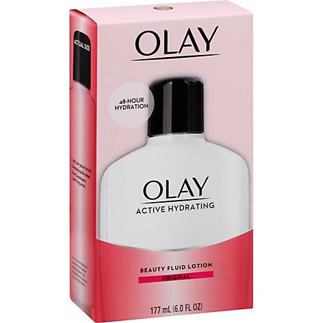 Olay Beauty Fluid Lotion Active Hydrating Original - 6 Fl. Oz.
