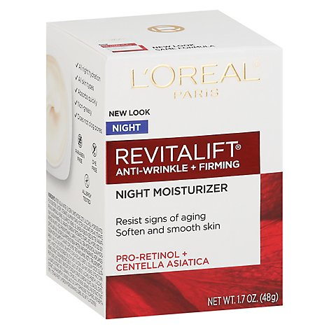 LOreal Paris Advanced Revitalift Night Cream - 1.7 Oz