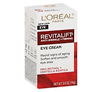 LOreal Paris Advanced Revitalift Eye Cream - 0.5 Oz