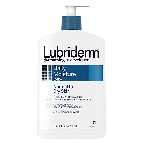 Lubriderm Lotion Skin Therapy Fresh Scent - 16 Fl. Oz.