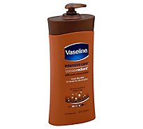 Vaseline Intensive Care Hand And Body Lotion Cocoa Radiant - 20.3 Oz