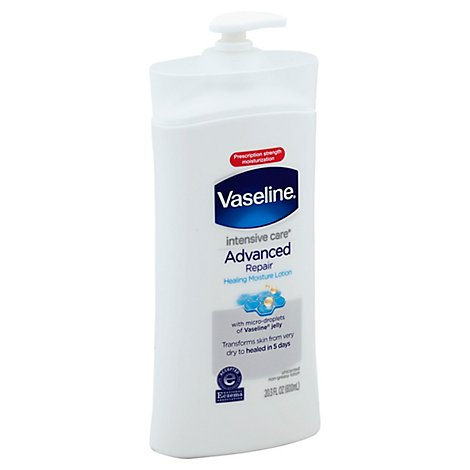 Vaseline Intensive Care Hand And Body Lotion Advanced Repair Unscented - 20.3 Oz