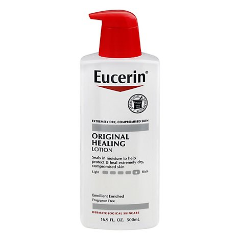 Eucerin Lotion Soothing Repair Original Healing - 16.9 Fl. Oz.