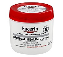 Eucerin Original Healing Rich Cream - 16 Oz