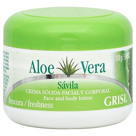 GRISI Aloe Vera Skin Moist Cream - 3.8 Oz