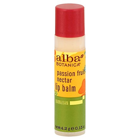 Alba Passion Fruit Nectar Lip Balm - .15 Oz