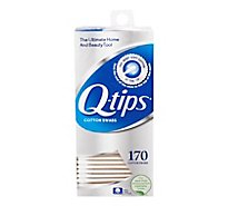 Q-tips Cotton Swabs - 170 Count