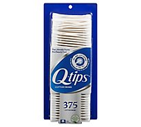 Q-tips Cotton Swabs - 375 Count