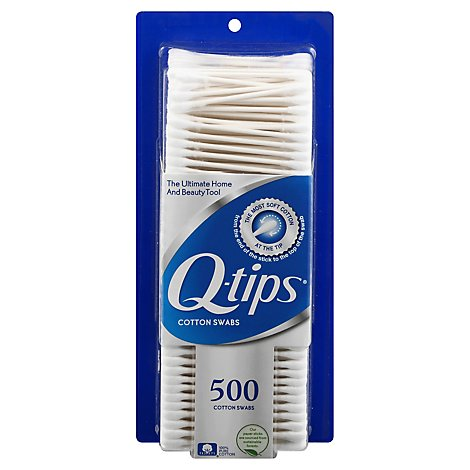 Q-tips Cotton Swabs - 500 Count