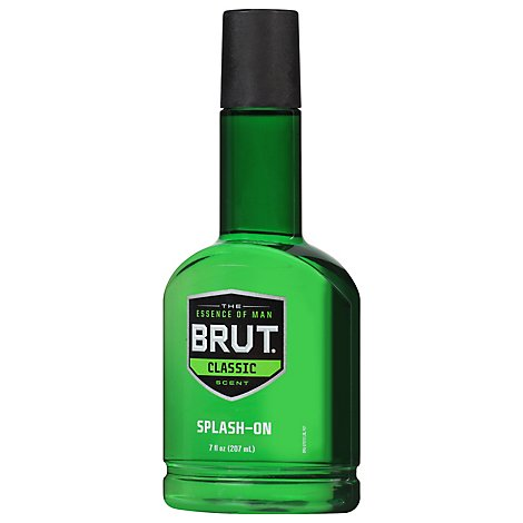Brut Splash-On Classic Scent - 7 Fl. Oz.