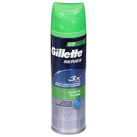 Gillette TGS Series Shave Gel Sensitive - 7 Oz