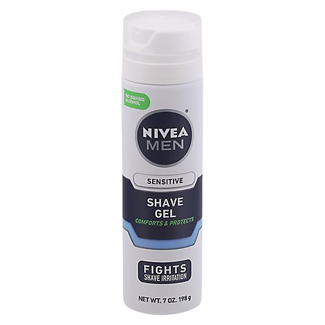NIVEA For Men Shaving Gel Sensitive - 7 Oz