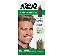 Just For Men Shampoo In Haircolor Light Brown H-25 - Each
