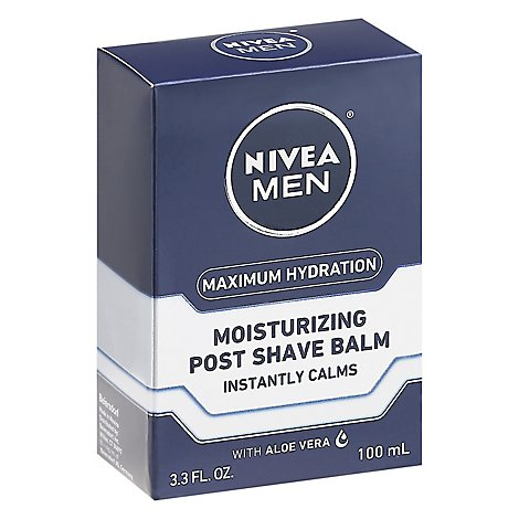 NIVEA Men Post Shave Balm Replenishing Original - 3.3 Fl. Oz.