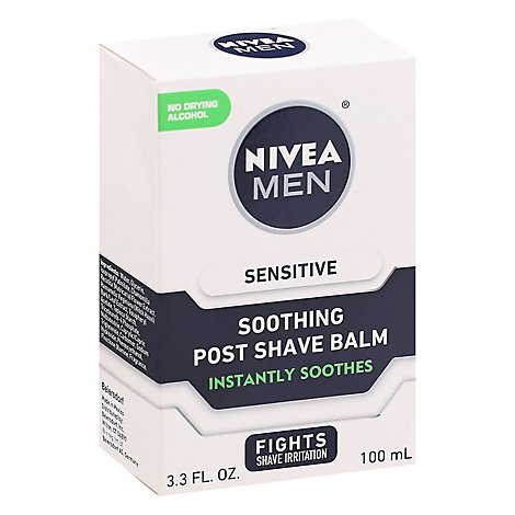 NIVEA Men Post Shave Balm Sensitive - 3.3 Fl. Oz.