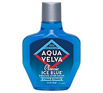 Aqua Velva After Shave Ice Blue Cooling Classic - 3.5 Oz