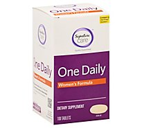 Signature Care One Daily Womens Formula Dietary Supplement Tablet - 100 Count