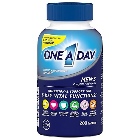 One A Day Multivitamin Mens Health Formula - 200 Count